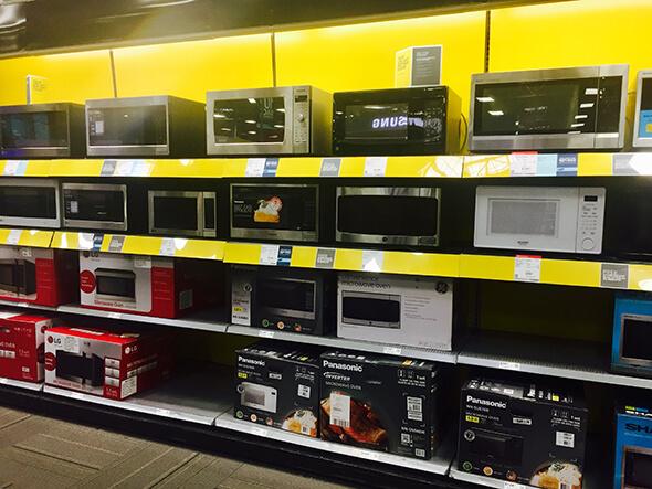 Best Buy microwaves