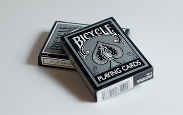 Playing Cards are a great hiding place for gift cards