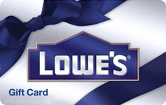 Lowe's Gift Card deal of the day